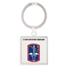 SSI - 172nd Infantry Brigade with  Square Keychain
