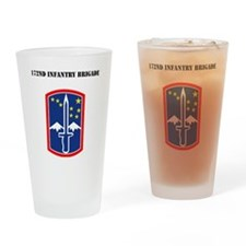 SSI - 172nd Infantry Brigade with T Drinking Glass