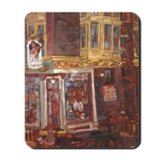 Philadelphia Franklin Fountain on Market Mousepad