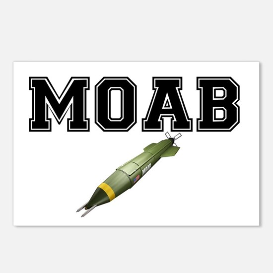 MOAB - MOTHER OF ALL BOMB Postcards (Package of 8)