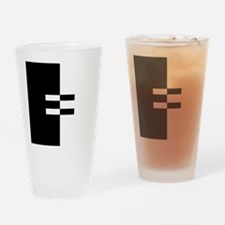 Interracial Equality Drinking Glass