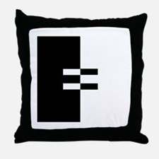 Interracial Equality Throw Pillow