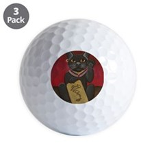 Maneki Neko Bast Golf Ball