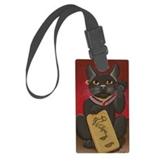 Maneki Neko Bast Luggage Tag