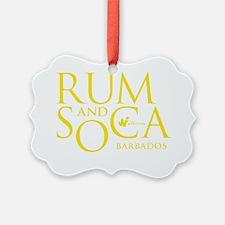 Rum (S)and Soca Ornament