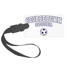 georgetown soccer plain Luggage Tag