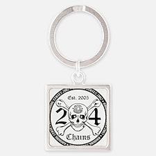 states 2012 Square Keychain