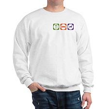 Eat Sleep Stabyhoun Sweatshirt