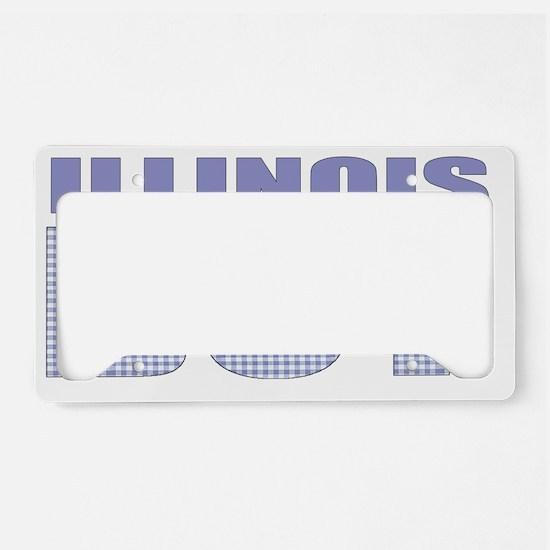 Illinois - more states License Plate Holder