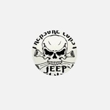 Treasure Coast Jeep Club Skull Logo Mini Button