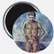 Paul Cezanne A Swimmer Magnet