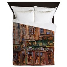 Philadelphia Irish pub on Walnut and 2 Queen Duvet