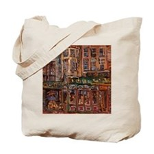 Philadelphia Irish pub on Walnut and 20 t Tote Bag