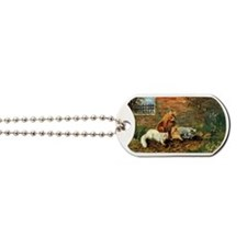 Antique print Dog Tags