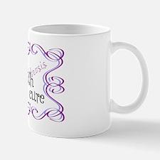 CF Hope Faith Cure Curls Mug