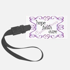 CF Hope Faith Cure Curls Luggage Tag