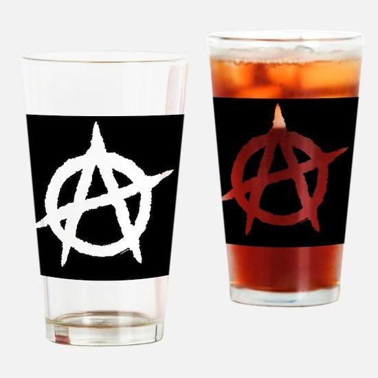 AnarchyiphoneSliderCase-b Drinking Glass