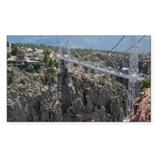 Royal Gorge Bridge Jan Decal