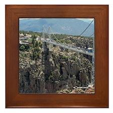 Royal Gorge Bridge Jan Framed Tile