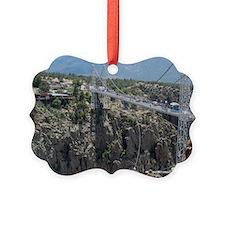 Royal Gorge Bridge Jan Ornament