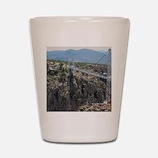 Royal Gorge Bridge Jan Shot Glass