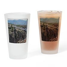 Royal Gorge Bridge Jan Drinking Glass