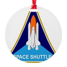 Space Shuttle Shield Ornament