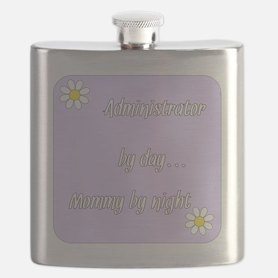 Administrator by day Mommy by night Flask