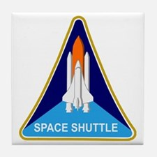 Space Shuttle Shield Tile Coaster