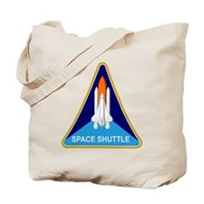 Space Shuttle Shield Tote Bag