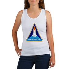 Space Shuttle Shield Women's Tank Top