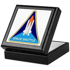 Space Shuttle Shield Keepsake Box