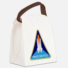 Space Shuttle Shield Canvas Lunch Bag