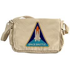 Space Shuttle Shield Messenger Bag