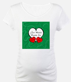 Red Green Two Hearts Married 201 Shirt