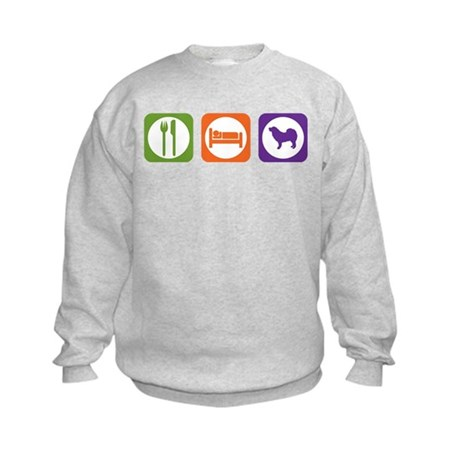Eat Sleep Mastiff Kids Sweatshirt