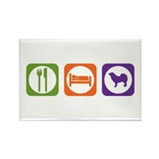 Eat Sleep Mastiff Rectangle Magnet (100 pack)