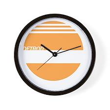 Detroit Express Wall Clock
