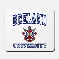 BRELAND University Mousepad