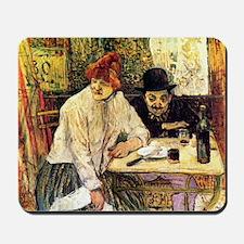 Toulouse-Lautrec A la Mie in the Restaur Mousepad