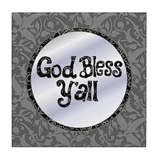 GodBlessYall2 Tile Coaster