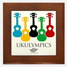 Ukulypmpics Framed Tile