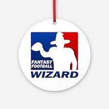 Fantasy Football Round Ornament