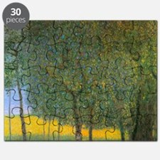 Gustav Klimt Fruit Trees Puzzle