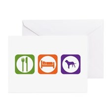 Eat Sleep Tosa Greeting Cards (Pk of 10)