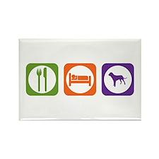 Eat Sleep Tosa Rectangle Magnet