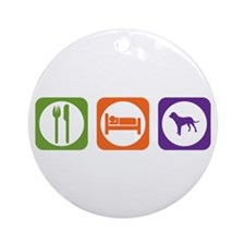 Eat Sleep Tosa Ornament (Round)