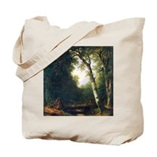 A creek in the woods by Asher Brown Duran Tote Bag