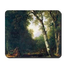 A creek in the woods by Asher Brown Dura Mousepad