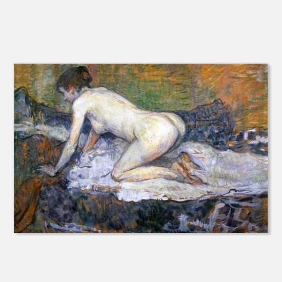 Toulouse-Lautrec Woman Na Postcards (Package of 8)